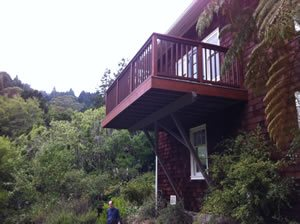 cantilevered deck mill valley