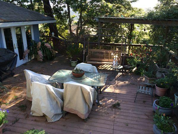 roof garden Marin County
